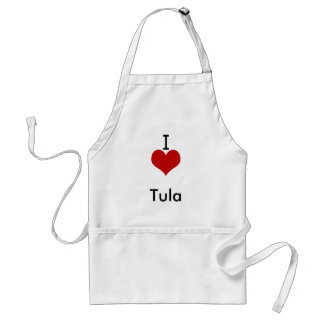 I Liebe (Herz) Tula Schürze