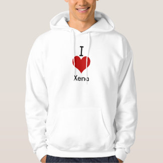 I Liebe (Herz) Xena Hoodie