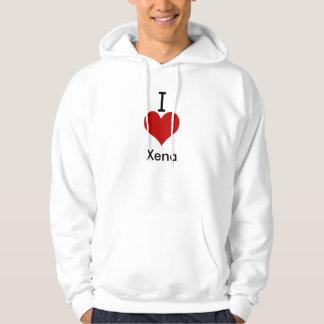I Liebe (Herz) Xena Hoodies