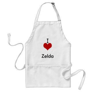 I Liebe (Herz) Zelda Schürzen