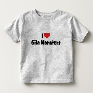I Liebe-Herzgila-Monster - Eidechsen-Liebhaber Kleinkind T-shirt