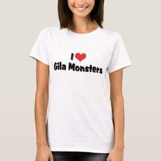 I Liebe-Herzgila-Monster - Eidechsen-Liebhaber T-Shirt