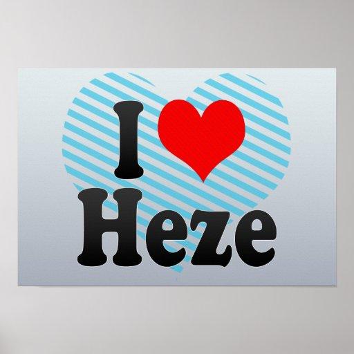 Heze China  city images : Liebe Heze, China. Wo Ai Heze, China Plakate von Zazzle.de