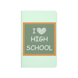 I Liebe-Highschool Taschennotizbuch