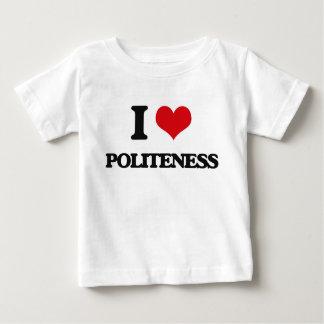 I Liebe-Höflichkeit T Shirt
