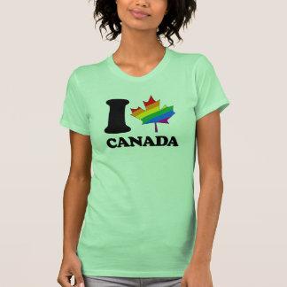 I LIEBE HOMOSEXUELLES KANADA - - PNG T-SHIRT