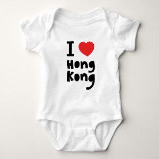 I Liebe Hong Kong Baby Strampler