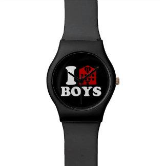 I Liebe-Hotel-Jungen Armbanduhr
