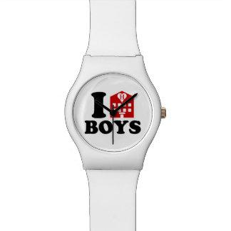 I Liebe-Hotel-Jungen Uhr