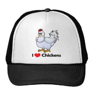 I Liebe-Hühner Trucker Caps
