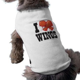 I Liebe-Hühnerflügel Shirt