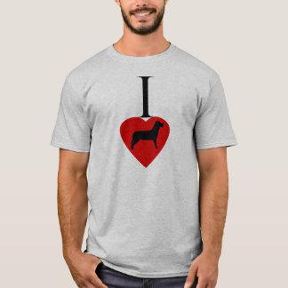 I Liebe-Hunde T-Shirt