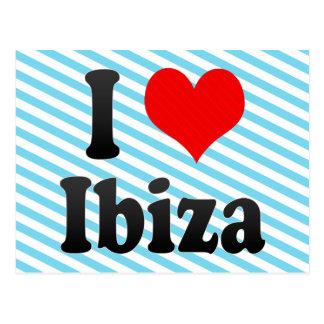 I Liebe Ibiza, Spanien. Ich Encanta Ibiza, Spanien Postkarte