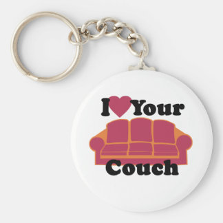 I Liebe Ihre Couch Schlüsselanhänger