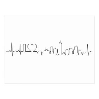 I Liebe Indianapolis in einer außerordentlichen Postkarte