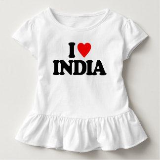 I LIEBE INDIEN KLEINKIND T-SHIRT