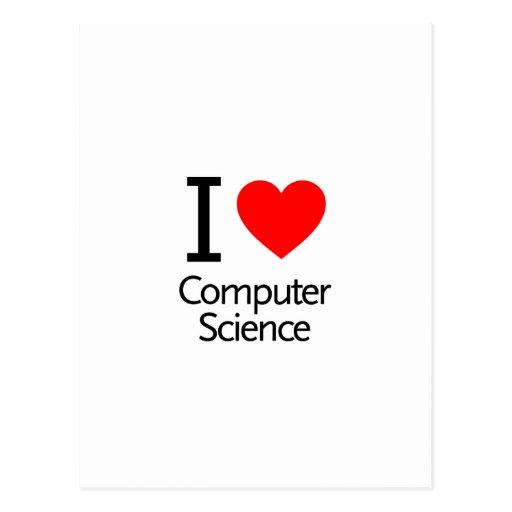 I Liebe-Informatik Postkarte