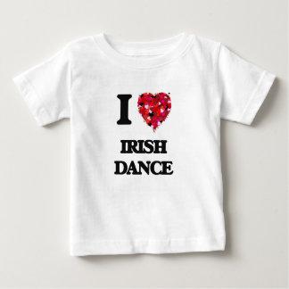 I Liebe-Iren-Tanz Baby T-shirt
