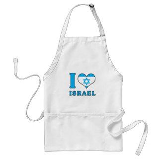 I Liebe Israel - Flagge mit Magen David Schürze