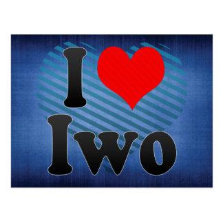 I Liebe Iwo, Nigeria Postkarte