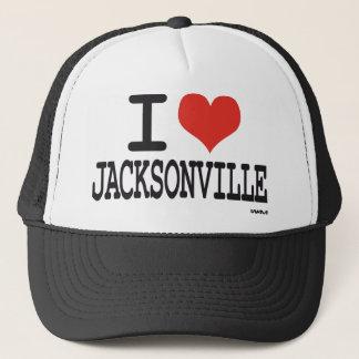 I Liebe Jacksonville Truckerkappe