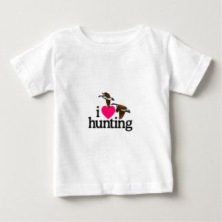 I LIEBE-JAGD BABY T-SHIRT
