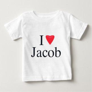 I Liebe Jakob Baby T-shirt