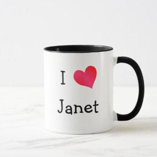 I Liebe Janet Tasse