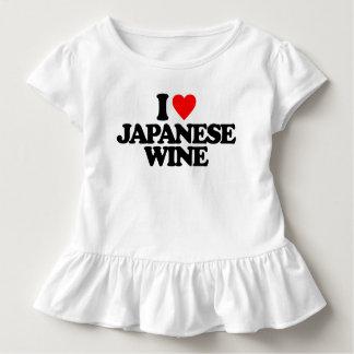 I LIEBE-JAPANER-WEIN KLEINKIND T-SHIRT
