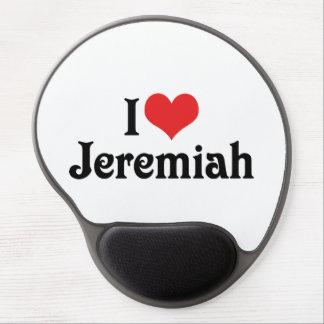 I Liebe Jeremias Gel Mousepad