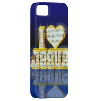 I Liebe-Jesus iPhone 5 Fall Barely There iPhone 5 Hülle