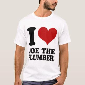 I Liebe Joe das Klempnert-shirt T-Shirt