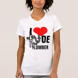 I Liebe Joe der Klempner T-Shirt