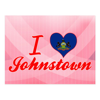 I Liebe Johnstown, Pennsylvania Postkarte