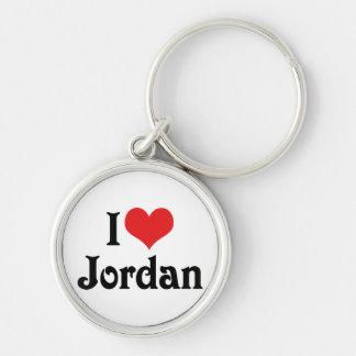 I Liebe Jordanien Schlüsselanhänger