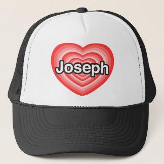 I Liebe Joseph. Liebe I Sie Joseph. Herz Truckerkappe