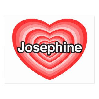 I Liebe Josephine. Liebe I Sie Josephine. Herz Postkarte