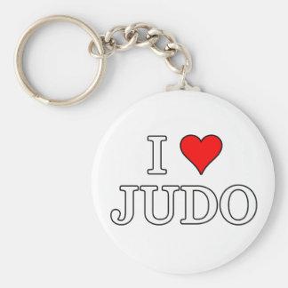I Liebe-Judo Keychain Schlüsselanhänger
