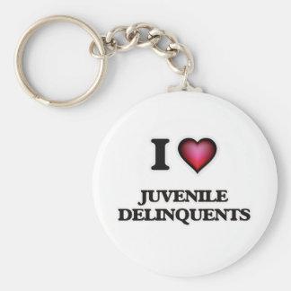 I Liebe-jugendliche Delinquenten Schlüsselanhänger