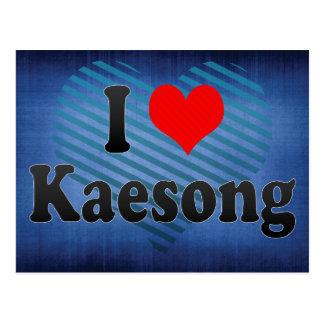 I Liebe Kaesong, Korea Postkarte
