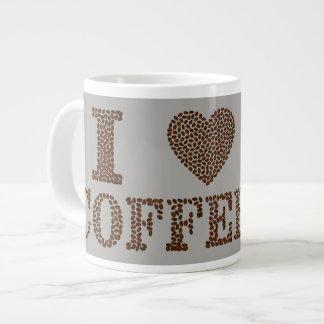 I LIEBE Kaffee Jumbo-Tasse
