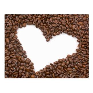 I Liebe-Kaffee Postkarte