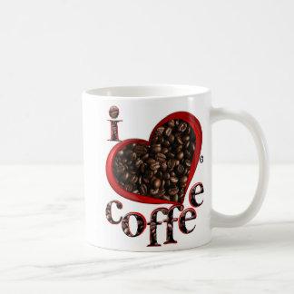 I Liebe-Kaffee seins; Kaffeetasse