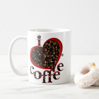I Liebe-Kaffee sie; Kaffeetasse