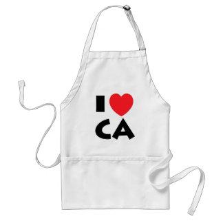 I Liebe Kalifornien Schürze