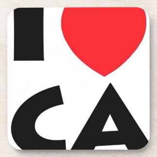 I Liebe Kalifornien Untersetzer