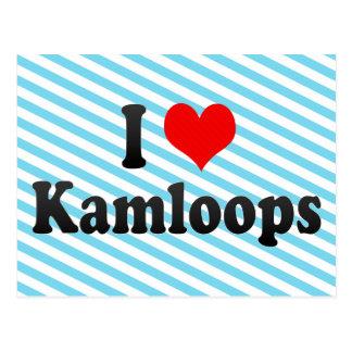 I Liebe Kamloops, Kanada. I Liebe Kamloops, Kanada Postkarte