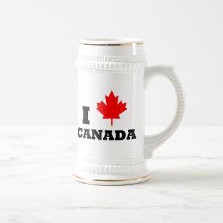 I Liebe Kanada Bierglas