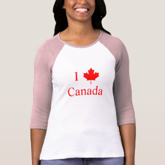 I Liebe Kanada T-Shirt