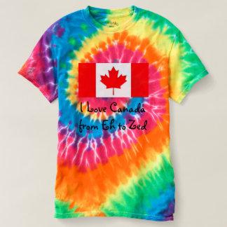 I Liebe Kanada von wie zum Zed - Spaß T-shirt